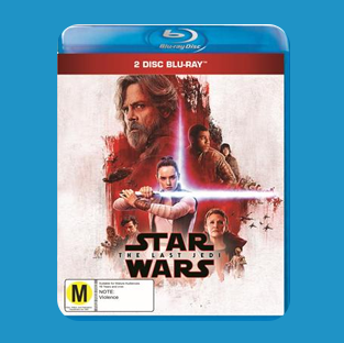 Win THE LAST JEDI on Blu-ray