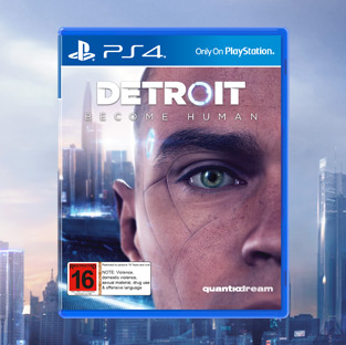 Win a PS4 Pro and 'Detroit: Become Human'