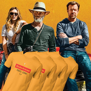 Win 1 of 10 'Kodachrome' t-shirts and double passes