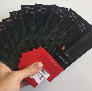 Win 1 of 10 'A Quiet Place' double passes